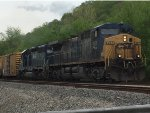 CSX 267 / HLCX 6248 at Graysville, GA NB
